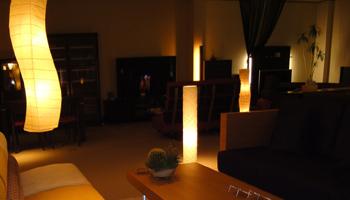 家具と灯かりのインテリア展