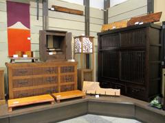 神谷家具 出展の様子